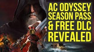 Assassin's Creed Odyssey DLC - Season Pass & Free DLC REVEALED: Atlantis & More!  (AC Odyssey DLC)