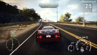 Need for Speed Rivals PC - Ferrari F40 Gameplay