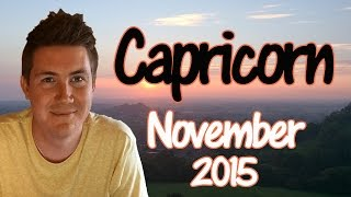 Horoscope for Capricorn November 2015 | Predictive Astrology