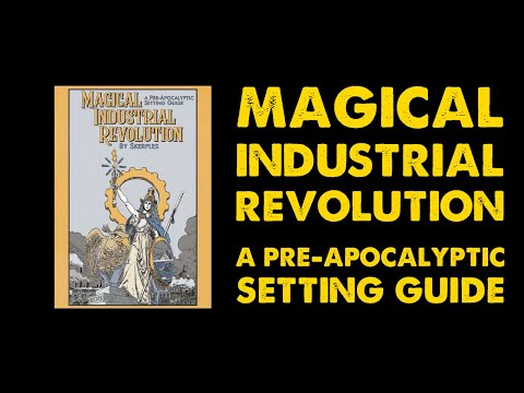 Magical Industrial Revolution: OSR DnD Adventure Review