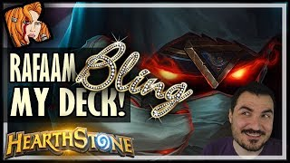 Rafaam BLINGED Out My Deck! - Rise of Shadows Hearthstone