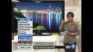 "Toshiba 65"" 1080p Full HD 120Hz CineSpeed LCD Television"
