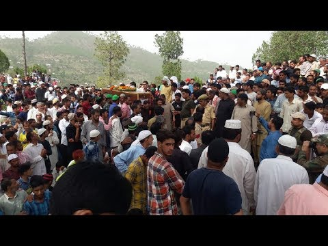 Martyr Aurangzeb laid to rest with full military honours