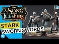 How To Paint Stark Sworn Swords | Song Of Ice And Fire Miniatures Game