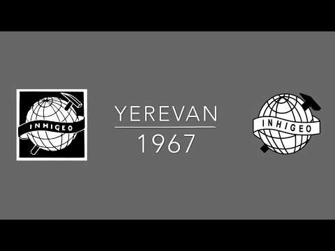 First INHIGEO. Yerevan, 1967