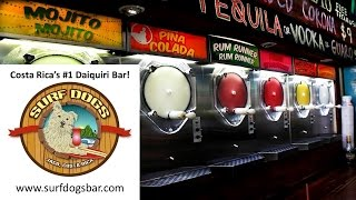 Surf Dogs Daiquiri Bar in Jaco, Costa Rica Presents Watusi Reggae