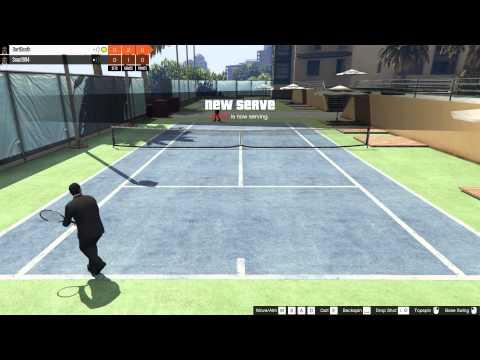 GTA Online Tennis match!