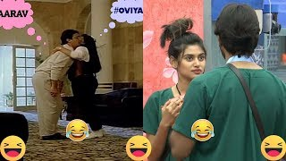 Oviya Crazy About Aarav - Bigg Boss Mental Love Story Troll - Phoenix Comedy News