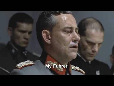 Hitler listens to