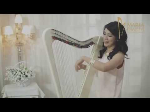 "Isyana Sarasvati - KAU ADALAH [Harp Cover] by Maria Pratiwi ""The Harpist"""