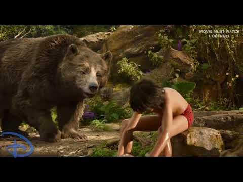 BALOO Best Scenes   Bear Baloo  Mowgli Best Funny Moments – The Jungle Book 2016 HD
