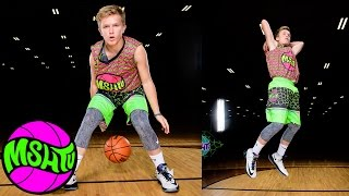 Cameron Binder shows NASTY COURT VISION at MSHTV Camp - Class of 2021