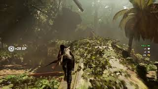 Shadow of the Tomb Raider Combat/ Animal fight Gameplay Walkthrough Developer Commentry _ PS4