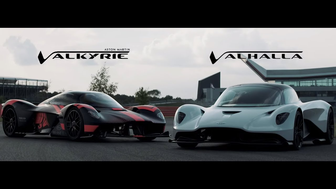Video Aston Martin Valkyrie And Valhalla Gohed Gostan Youtube