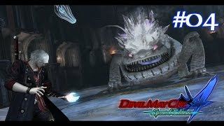 Devil May Cry 4 Special Edition (PS4) Mission 04: Cold Blooded | Gameplay Walkthrough