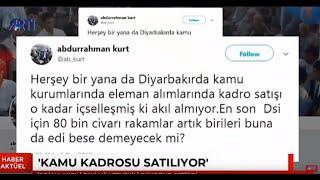 AKP Diyarbakır eski milletvekilinden büyük iddia: Kamu kadroları satışa çıkarıldı!