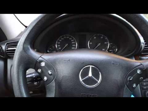 Remove mercedes instrument cluster / dashboard DIY