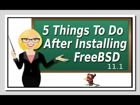 5 Things To Do After Installing FreeBSD