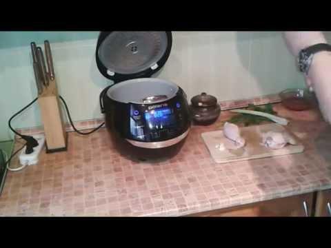 Суп в мультиварке с чечевицей и курицей