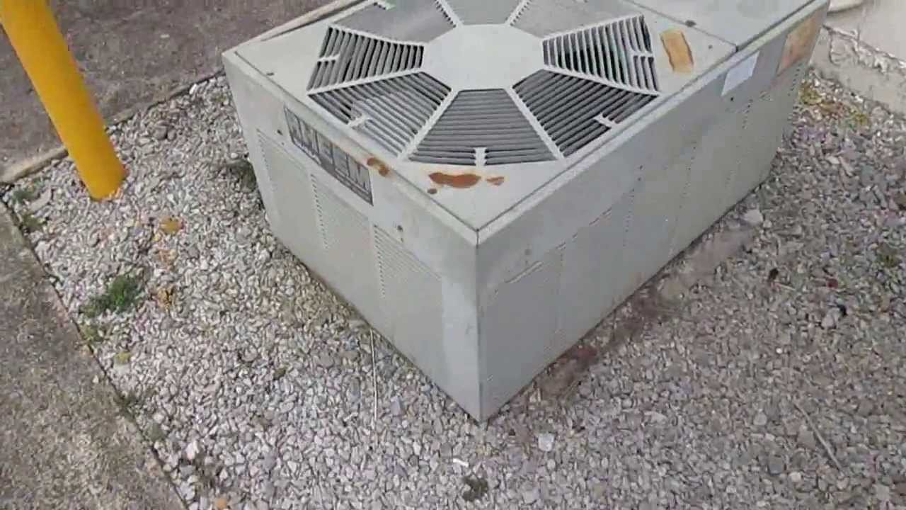 1980s Trane Hvac Unit And 1988 Rheem Custom Heat Pump