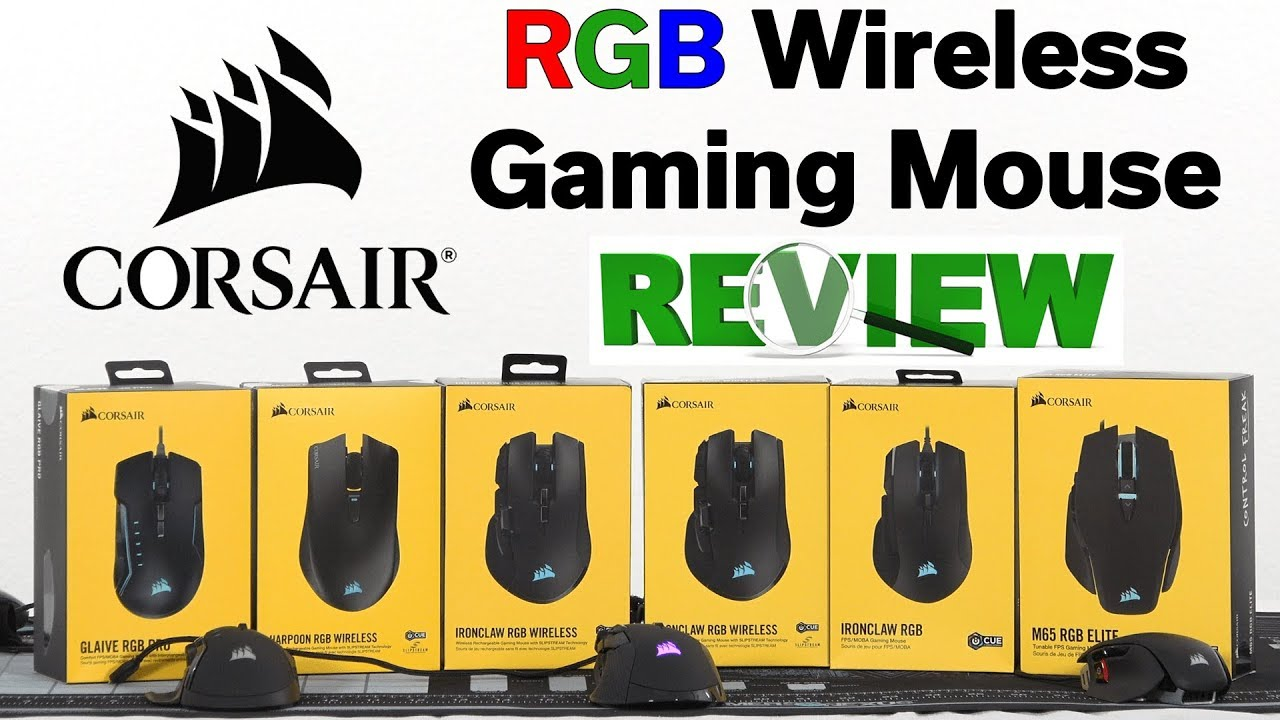 Best Gaming Mouse? — Corsair Ironclaw RGB Wireless Gaming Mouse — Review