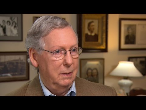 Mitch McConnell on Donald Trump