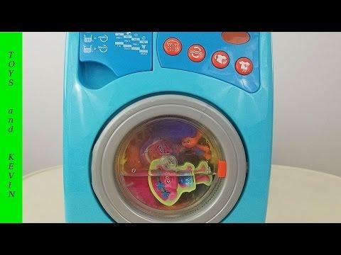 Тролли и волшебная стиральная машина с сюрпризами Детские игры и видео для детей про игрушки ТРОЛЛИ