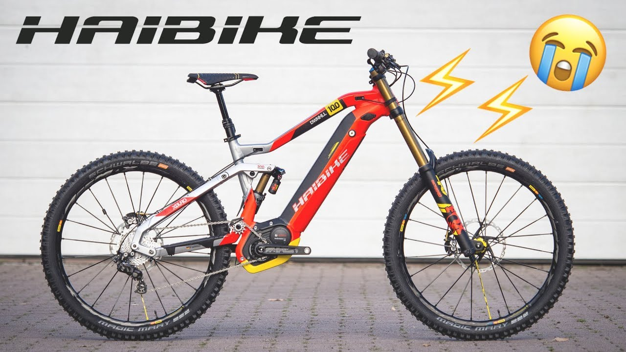 The 9600 Electro Bike Haibike Xduro Dwnhil 10 0 4k Youtube