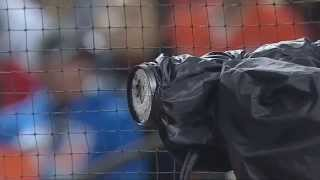 Прикол. Бейсбол  Мяч разбил камеру