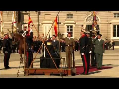 National Anthem of SPAIN at Royal Palace of Madrid