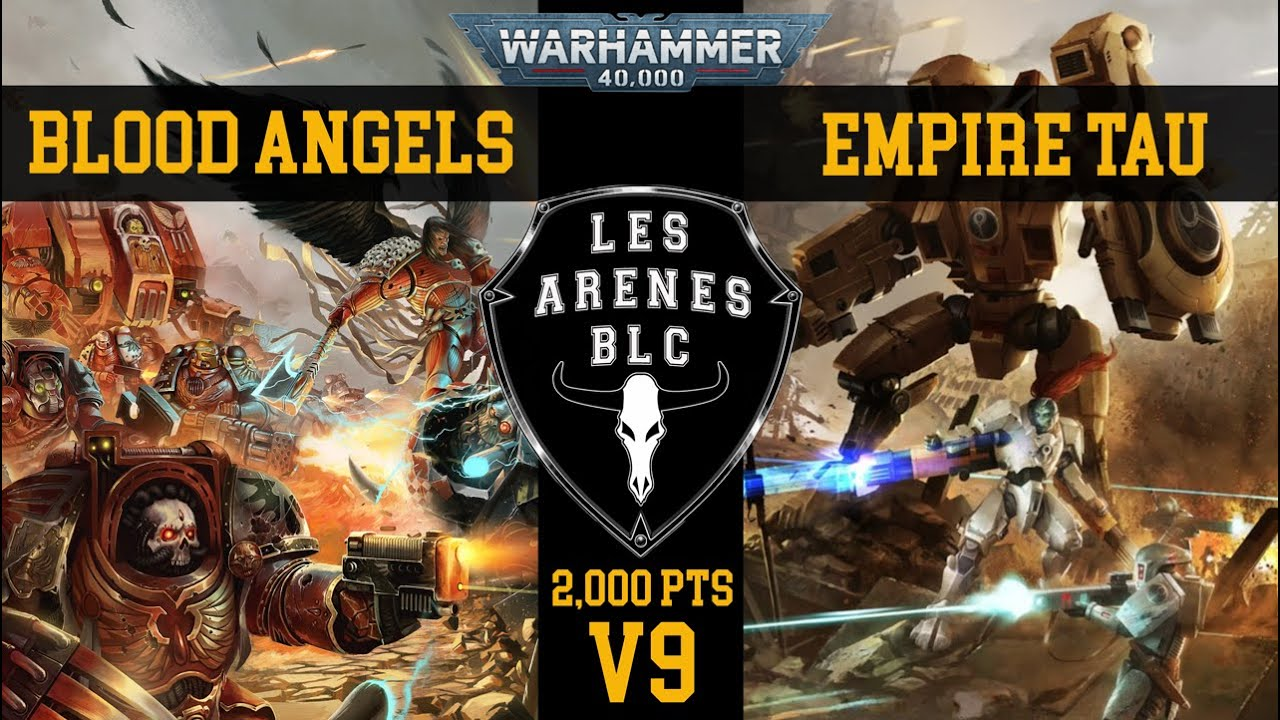 Download Rapport de Bataille - v9 - 2,000pts - Blood Angels vs Empire Tau