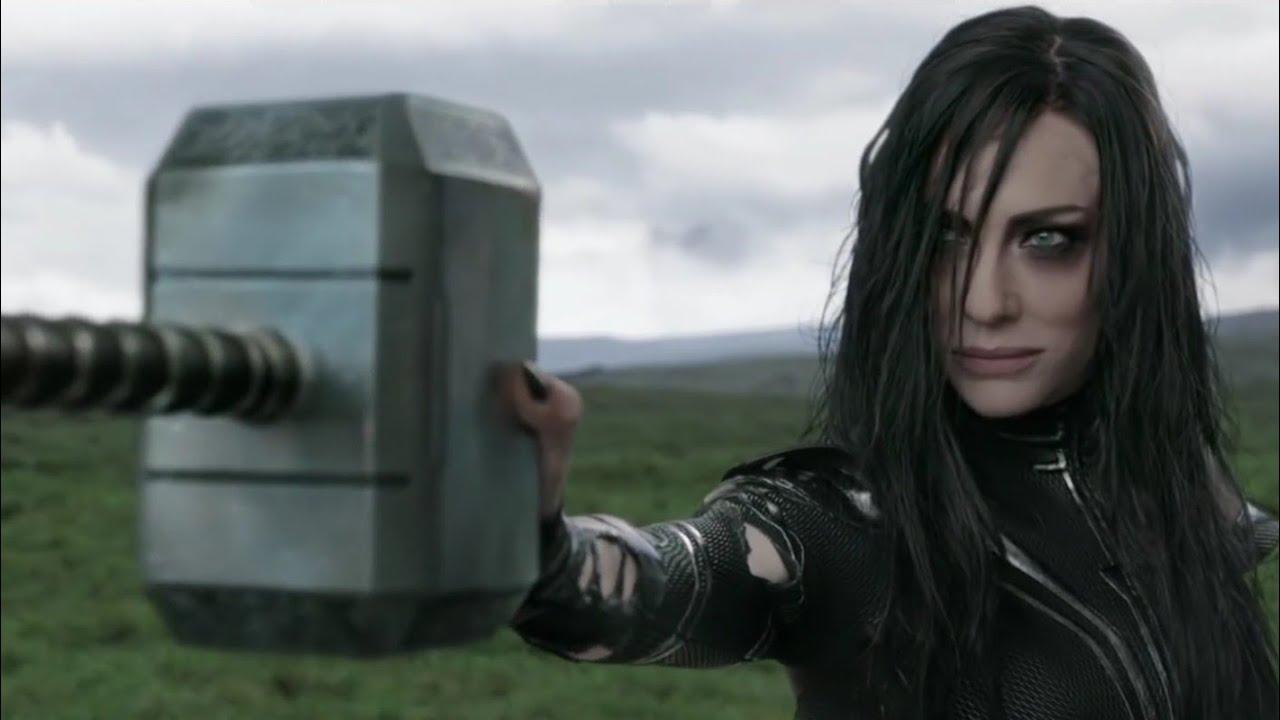 "Download ""Hela Destroys Mjolnir"" - Thor: Ragnarok (2017)   Movie Clip HD"