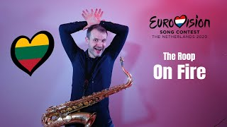 The Roop - On Fire (Eurovision 2020 Lithuania) Saxophone Cover by JK Sax