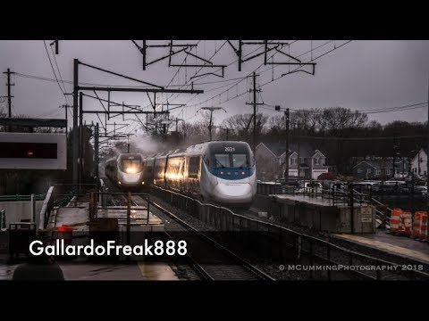 Acela Express Meet At 150 MPH Speed !!!