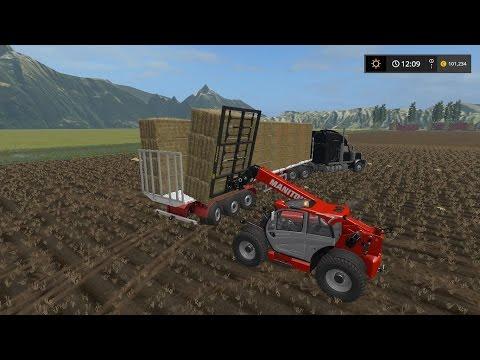 Bale Stacking   Big Machines   Farming Simulator 2017   Episode 3