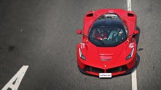 馬王神降 高雄首現 Ferrari Laferrari Sound  | autoclubline