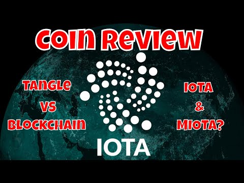 What Is IOTA - Just The Basics (Coin Review)
