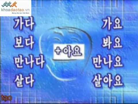 Cùng học tiếng Hàn Quốc bai 12 P1