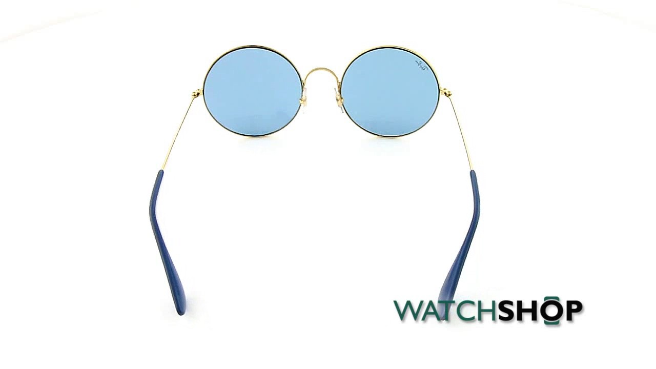 489a25c5d66 Ray-Ban Ladies  RB3592 Sunglasses (RB3592-001 F7-55) - YouTube