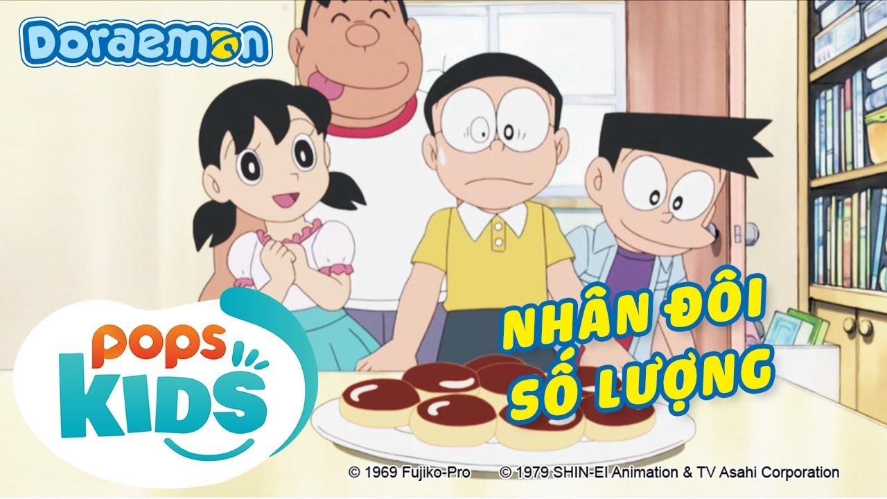[S6] Doraemon Tập 297 – Nhân Đôi Số Lượng, Tạm Biệt Hana – Hoạt Hình Tiếng Việt