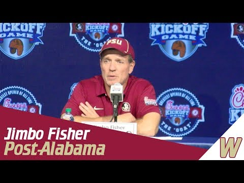 Warchant TV: Jimbo Fisher post-Alabama