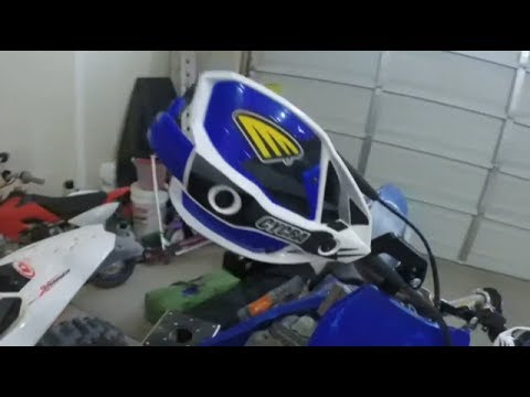 2003 Yamaha YZ250 Rebuild: Part 7 - Cycra Ultra Probend Hand Guards
