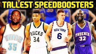 TALLEST SPEEDBOOSTERS! MOST CHEESE LINEUP! NBA 2K17 MYTEAM ONLINE GAMEPLAY