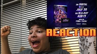 Avengers: Endgame Blu-Ray and Digital Trailer Reaction