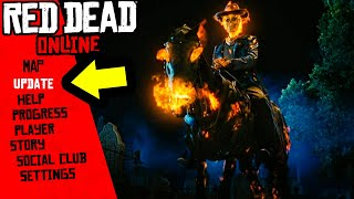 Undead Nightmare Season DLC LEAKED for Red Dead Online! Halloween Pass RDR2 New Update!