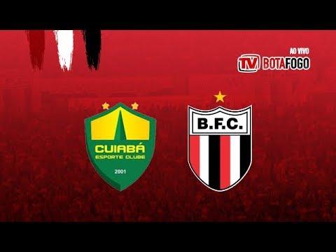 AO VIVO: Cuiabá (MT) x Botafogo - Série C 2018