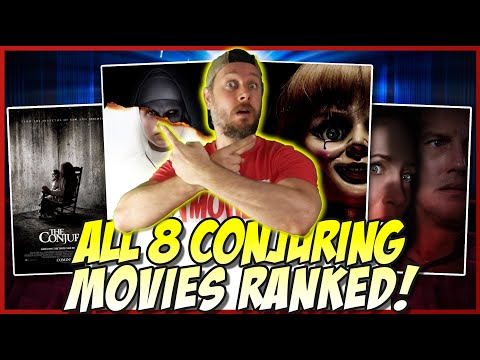 Download All 8 Conjuring Universe Films Ranked! (w/ The Conjuring The Devil Made Me Do It)