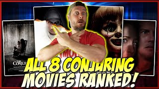 All 8 Conjuring Universe Films Ranked! (w/ The Conjuring The Devil Made Me Do It)