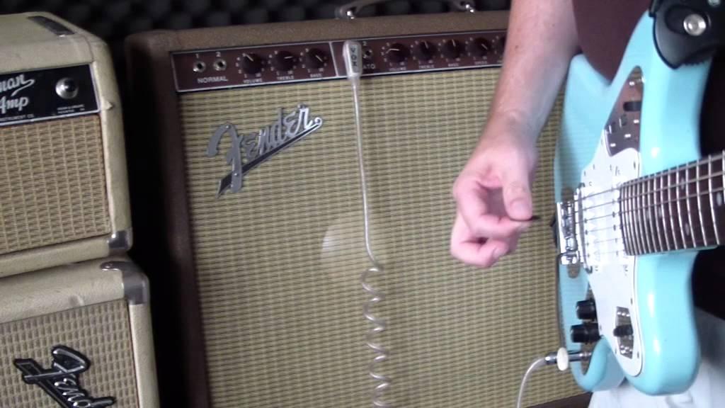 Fender Vibrasonic Amp Brownface Vibrato Clean