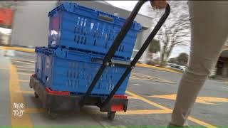 Walmart Online Grocery Pickup Drive Thru In Metairie